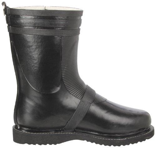 Ilse Jacobsen Short Biker Boot RUB24 - Botas de caucho para mujer Negro