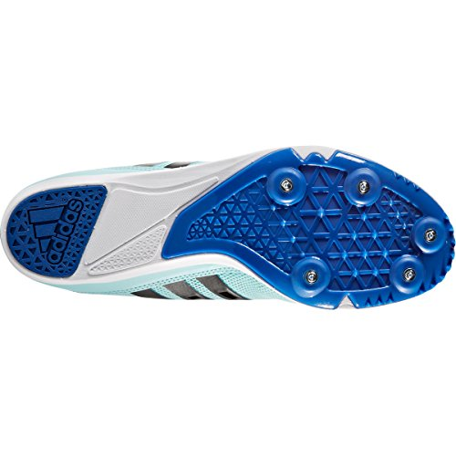 adidas Distancestar W, Zapatillas de Atletismo para Mujer Multicolor (Clear Aqua/core Black/blue)