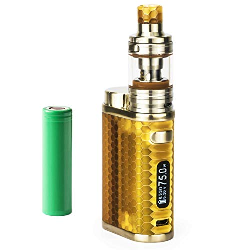 SC Eleaf iStick Pico Resin Kit inkl. Melo 4 D22 (2 ml) 2500mAh E-Zigarette E-Shisha Starterset (nikotinfrei) (bernstein)