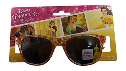 Disney Princess Belle Flowers Girls Sunglasses 100% UVA & UVB - Girl Sunglasses With Pretty