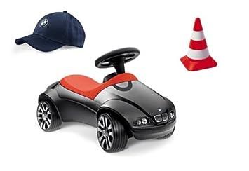 Bmw Original Baby Racer Bobby Car Black In Gift Set Amazon Co Uk