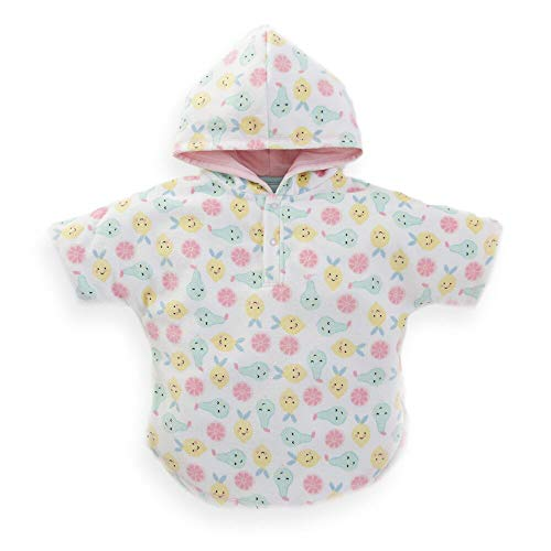My 1st Years Personalized Tutti Frutti Print Towelling Poncho (0-6 Months)