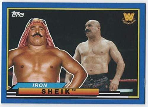 2018 Topps Heritage WWE Big Legends #BL-21 Iron Sheik Wrestling Card