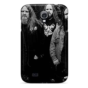Samsung Galaxy S4 GvA11314Hnnw Custom HD Manowar Band Image Shock Absorption Cell-phone Hard Cover -MansourMurray