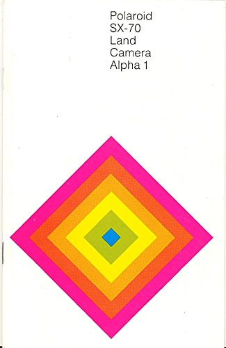 Polaroid SX-70 Land Camera Alpha 1 Original Instruction Manual