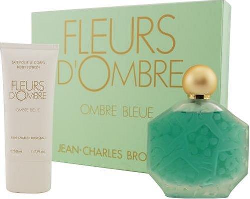 - Fleurs D'ombre Bleue By Jean Charles Brosseau For Women. Set-edt Spray 3.4-Ounces & Body Lotion 1.7-Ounces