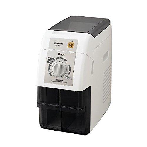 ZOJIRUSHI Rice Milling Machine ''TSUKITATE FUUMI'' BR-WA10-WA (White)【Japan Domestic genuine products】