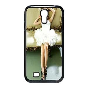 Samsung Galaxy S4 9500 Cell Phone Case Black Emma Watson In White Dress F4V5WL