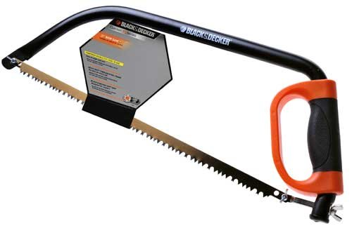 Black & Decker 21-Inch Bow Saw with Knuckled Guard BD1704 by BLACK+DECKER