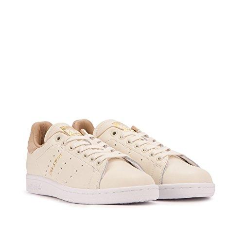 adidas Women's Stan Smith W Fashion Sneaker Off White/Pale Nude