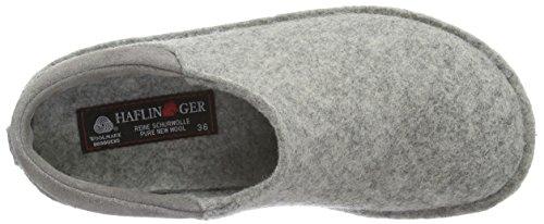 Haflinger Unisex-Erwachsene Smart Pantoffeln Grau (Steingraumeliert 84)