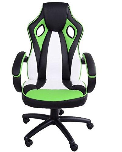 41HbFvDs93L - KA-Company-Chair-Style-High-Back-Gaming-Racing-Ergonomic-Office-Leather-Pu-Swivel-Computer-Executive-360-Degree-5-Wheels-Mesh-Bucket-Seat