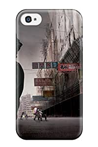 Flexible Tpu Back Case Cover For Iphone 4/4s - Ghost In The Shell