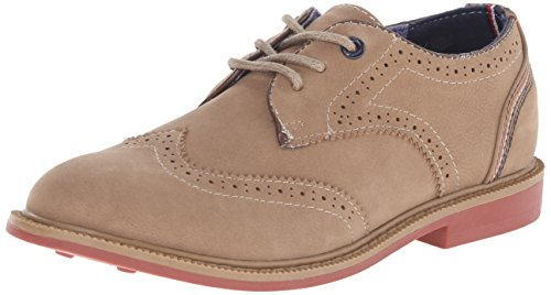 Tommy Hilfiger Kids Michael Boy Oxford (Little Kid/Big Kid),Tan,5 M US Big Kid