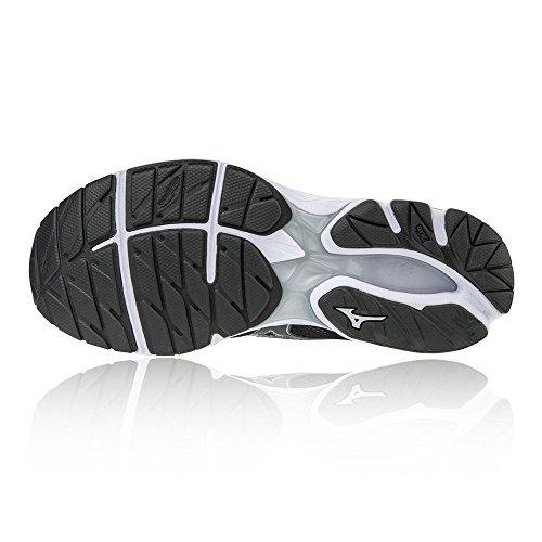 Noir Chaussures 21 Femme de Mizuno Running Rider Noir Wave Wos qU4f41