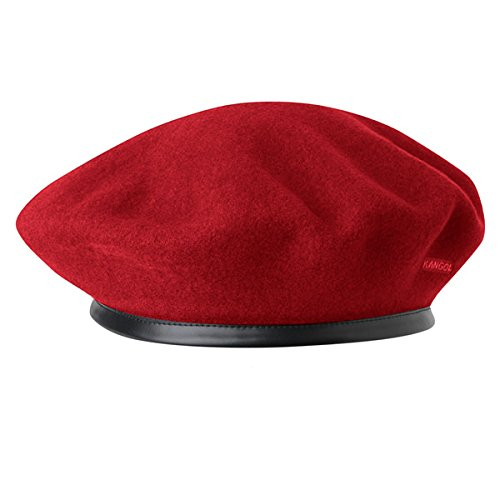 Kangol 0248HT Womens Monty Beret Hat, Red-L