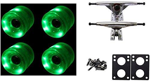 Led Light Up Longboard Wheels in US - 5