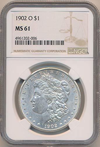 1902 O Morgan Dollar Morgan Dollar MS61 NGC ()