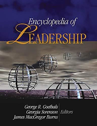 Books : Encyclopedia of Leadership 4 vol. set