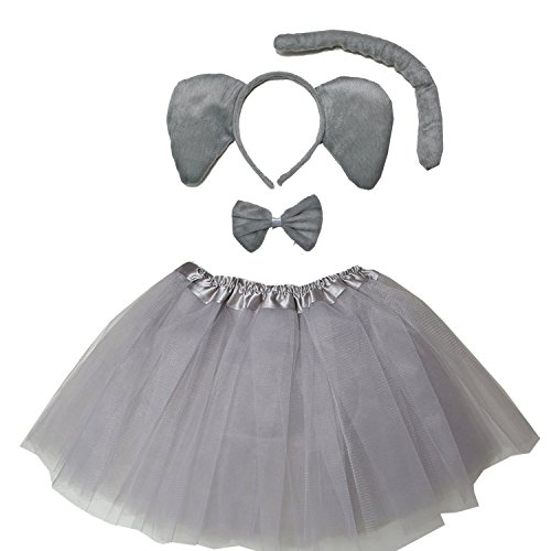 Kirei Sui Kids Costume Tutu Set Elephant]()