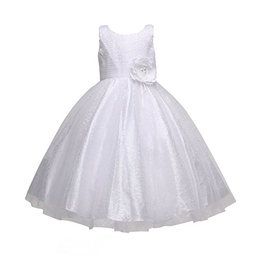 Amelia Little Big Girl's Multi-Sequin Tulle Party Dress (802) (4) (Care Package Delivery Nyc)
