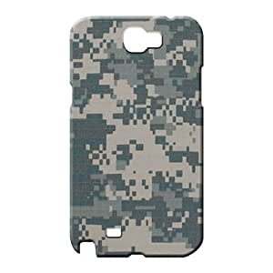 samsung note 2 Classic shell PC Protective Beautiful Piece Of Nature Cases phone back shells camo army digital