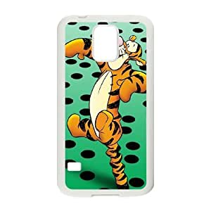 Samsung Galaxy S5 White phone case Tigger YYF4342186