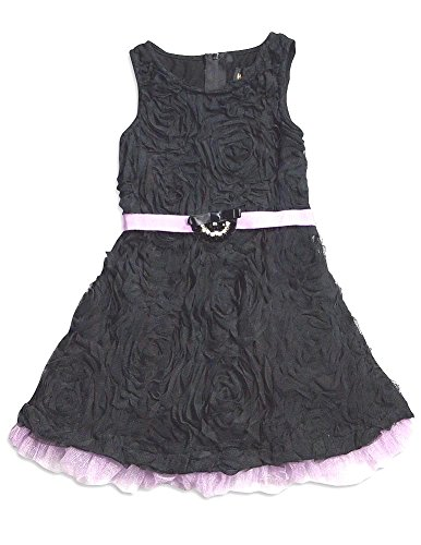 Hannah Banana - Little Girls' Sleeveless Party Dress, Black 30142-6X