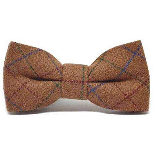 Bow Tweed Brown Heritage Tie Rustic Check ZSnwTq