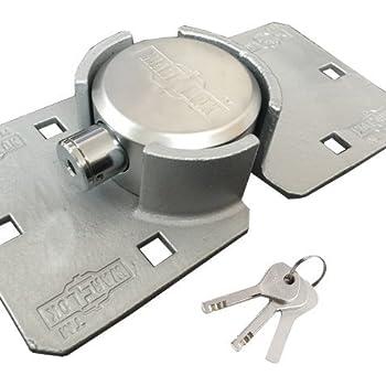 Amazon Com War Lok Heavy Duty Puck Lock Hasp Automotive