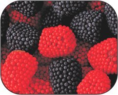 Blackberry Raspberry Gumdrops Candy [10LB Case]
