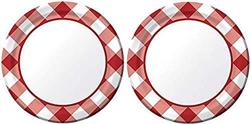 Para tu estilo de juego a los precios más baratos. Creative Converdeing 8 platos de postre de de de papel, Gingham Galore 2-(Pack) 2-(Pack)