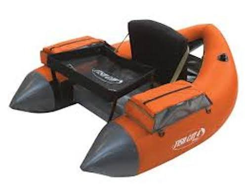 Outcast Fish Cat 4 Deluxe LCS Burnt Orange (Outcast Fish Cat 4 Deluxe Float Tube)