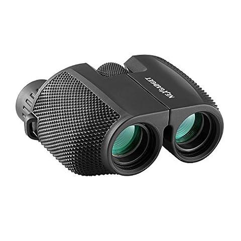 NEXGADGET 10x25 Portable Binoculars Telescope for Concerts with Fully Multi-Coated Lens, Compact Waterproof Mini Folding Binoculars Lightweighted for Adults Kids Hiking Bird Watching Sport (Folding Binoculars Kids)