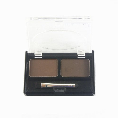 NAVA Нью уголь и Браун 2 Dark Shadow бровей Kit Liner Bronzer Powder Makeup Palette