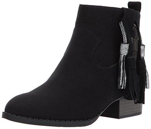 Dolce Vita Girls' Jemma Ankle Boot, Black Microsuede, 3 Medium US Little Kid by Dolce Vita