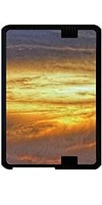 """Funda para Kindle Fire HD 7"""" (2012 Version) - La Puesta Del Sol Impresionista"""