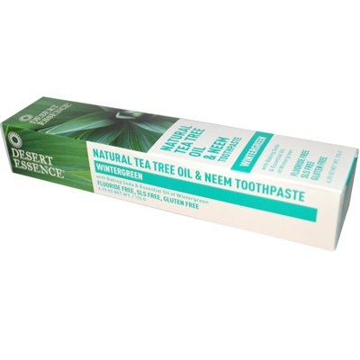 Desert Essence Toothpaste Tea Tree Neem-Wintergreen