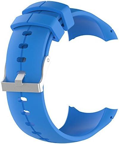 malla de silicona para Suunto Spartan Ultra azul