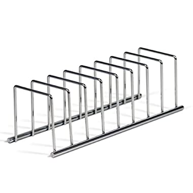 Spectrum Diversified 32070 Euro Lid Organizer, Plate Rack, Chrome