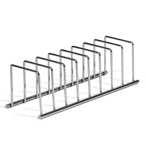 Spectrum Diversified Euro Lid Organizer, Plate Rack, Lid Holder, Square, Chrome