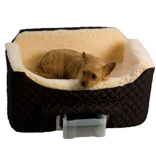 Snoozer Lookout II Pet Car Seat, Large II, Black by Snoozer