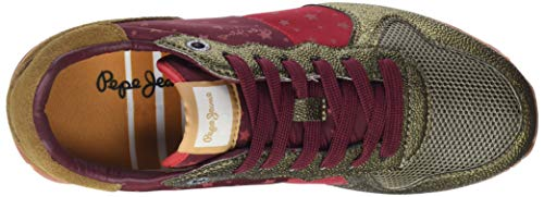 gold W Zapatillas Dorado 099 Verona Mujer Para Jeans World Pepe OA8xw4qI