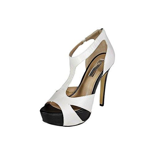 Inc International Concepts Meldah Mujer Us 9.5 Sandalia De Plataforma Blanca