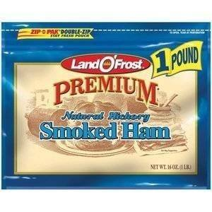 LAND O' FROST PREMIUM LUNCH MEAT COLD CUTS SMOKED HAM 16 OZ PACK OF 2 by Land O' Frost