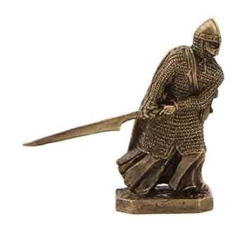 Amazon Ctoc Knight With Glaive Bronze Statuette Siege Of Acre