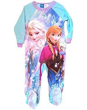 Disney Frozen Anna and Elsa Onesies Disney Frozen Pajama for the Most Magical Sleep Flame Resistant Sleepwear...
