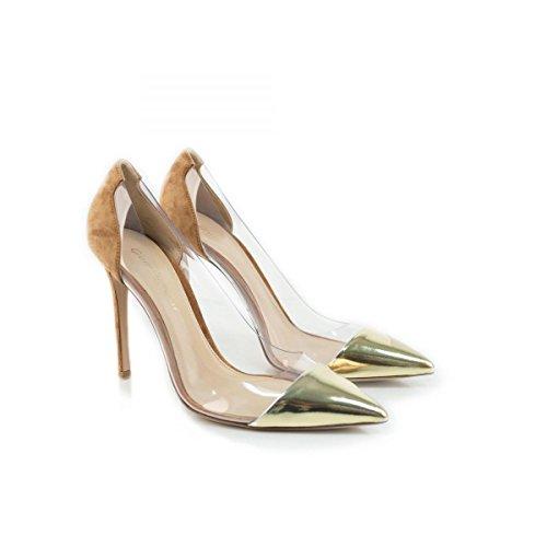 Gianvito Rossi Zapatos de vestir para mujer Dorado dorado No