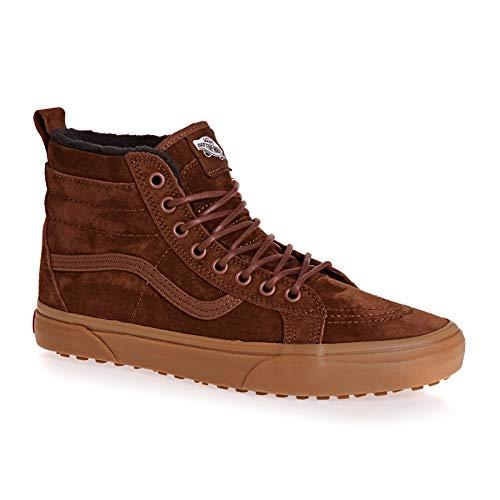 (Vans SK8-Hi MTE Shoes - Men's, Sequoia/Gum, 9 US, VN0A33TXUC8-9 VN0A33TXUC8-9 US)