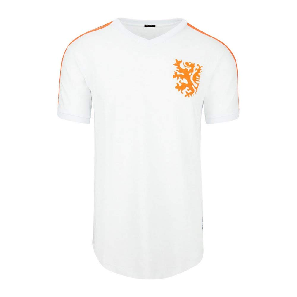 Retro 1974 Classics Cruyff Shirt Holland weiß